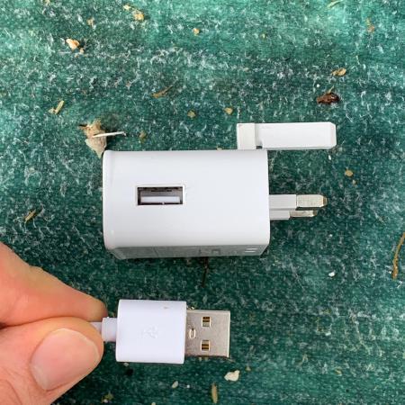 Note that it's powered by a normal USB Type A connection.
