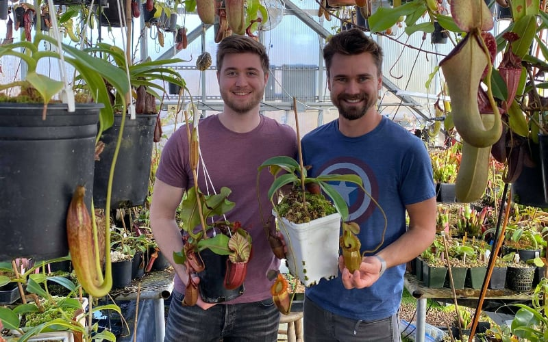 Today I'm very happy to be welcoming David Görg to the blog. David recently visited fellow grower Jeremiah Harris in Colorado...