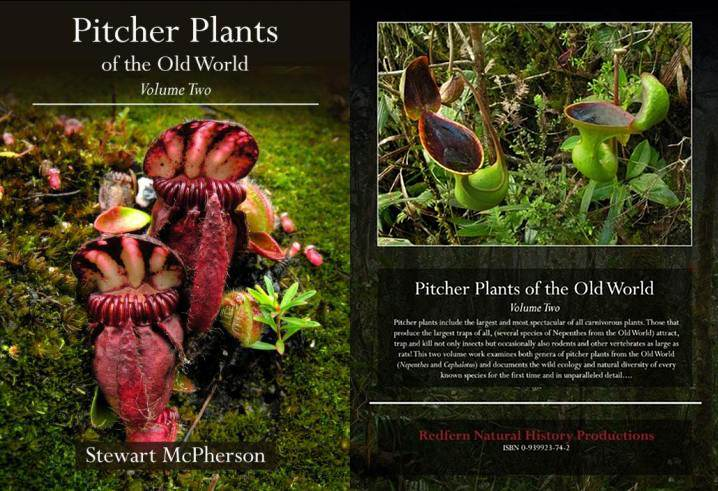 One of my favourites: Pitcher Plants of the Old World: Volume 2,